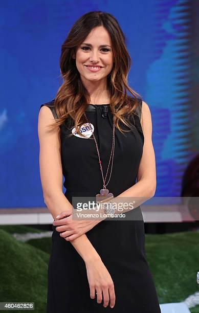 Michela Coppa attends the 'Quelli Che Il Calcio' Tv Show on December 14 2014 in Milan Italy