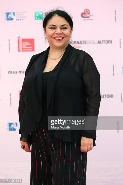 """Michela Murgia attends """"Nilde Iotti, il tempo delle donne"""" at the """"Giornate degli Autori"""" during the 77th Venice Film Festival on September 07, 2020..."""