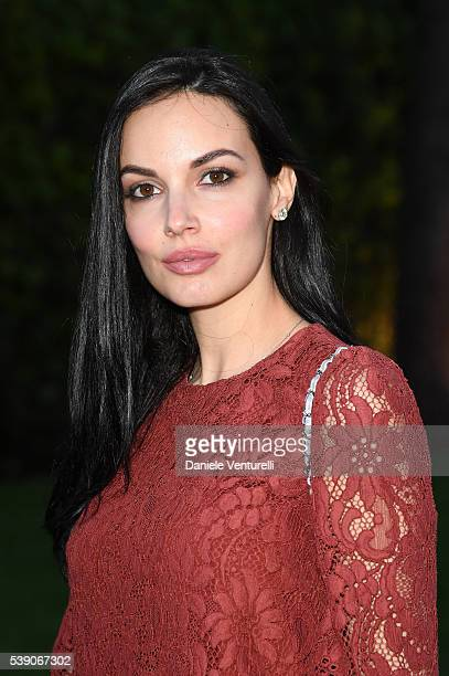 Michela Quattrociocche attends McKim Medal Gala In Rome at Villa Aurelia on June 9 2016 in Rome Italy