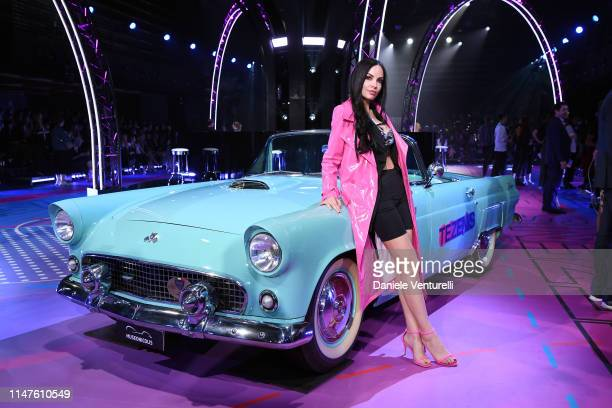 Michela Quattrociocche the TEZENIS Show Drive In on May 07 2019 in Verona Italy
