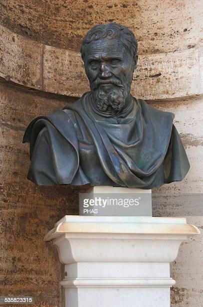 Michelangelo Italian artist Bust Vatican