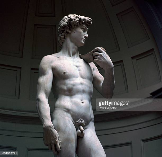 Michelangelo's David at the Galleria dell'Accademia in Florence