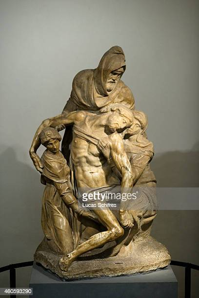 Michelangelo's Deposition is housed in the Museo dell'Opera del Duomo on August 14 in Florence Tuscany Italy Florence the capital city of Tuscany is...