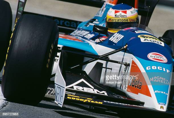 Michele Alboreto drives the Minardi Team SpA Minardi Ford M194 during the Canadian Grand Prix on 12th June 1994 at the Montreal Circuit Gilles...