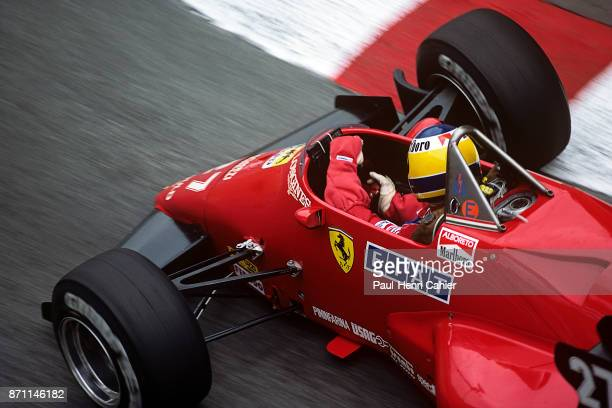 Michele Alboreto Ferrari 126C4 Grand Prix of Monaco Circuit de Monaco 03 June 1984