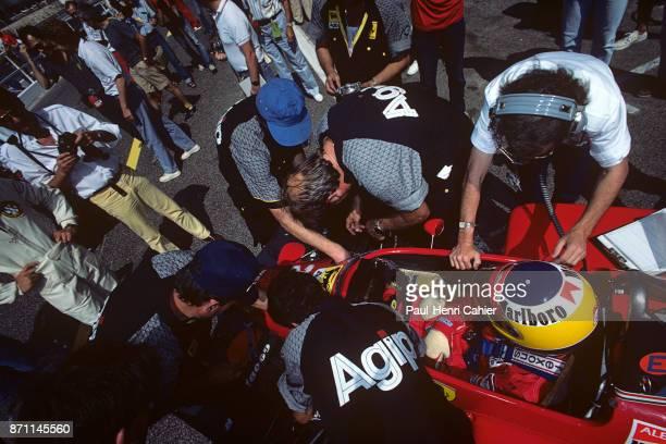 Michele Alboreto Ferrari 156/85 Grand Prix of France Circuit Paul Ricard 07 July 1985