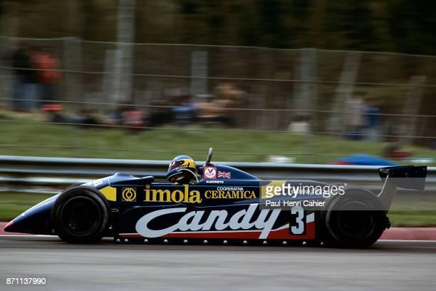 Michele Alboreto TyrrellFord 011 Grand Prix of San Marino Imola 25 April 1982