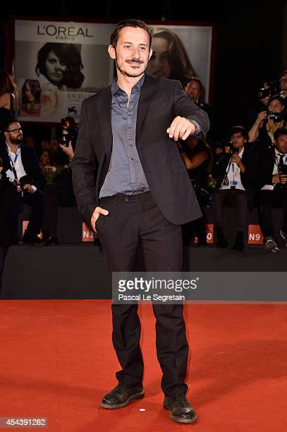 Michele Alhaique attends 'The Humbling' premiere during the 71st Venice Film Festival on August 30 2014 in Venice Italy