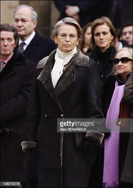 Michele AlliotMarie in Paris France on January 29 2007