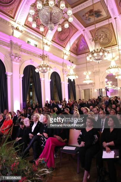 Michele AlliotMarie MarieAnne BarbatLayani Jeanine Mabunda Lioko Chekeba Hachemi and Grand Duchess Maria Teresa of Luxembourg attend the Prix de la...