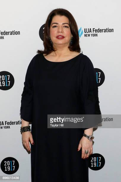Michele Anthony attends the United Jewish Appeal Federation Of New York's 2017 Music Visionary Of The Year Award Luncheon at The Pierre Hotel on June...
