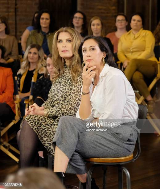 """Michele Bachmann and Vanessa Carlton attend the """"Take On America"""" discussion panel presented by Ozy Media on October 15, 2018 in Nashville, Tennessee."""