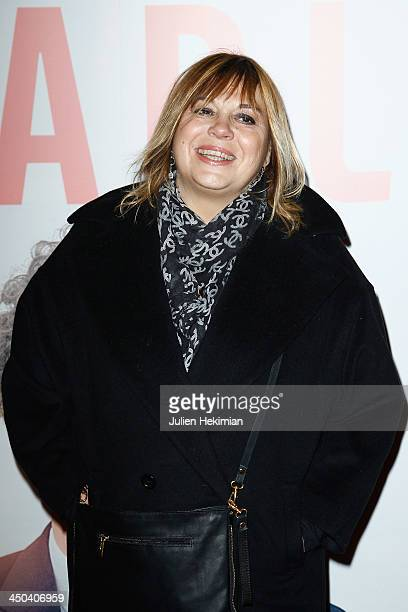 Michele Bernier attends 'Les Garcons Et Guillaume A Table' Paris Premiere at Cinema Gaumont Opera on November 18 2013 in Paris France
