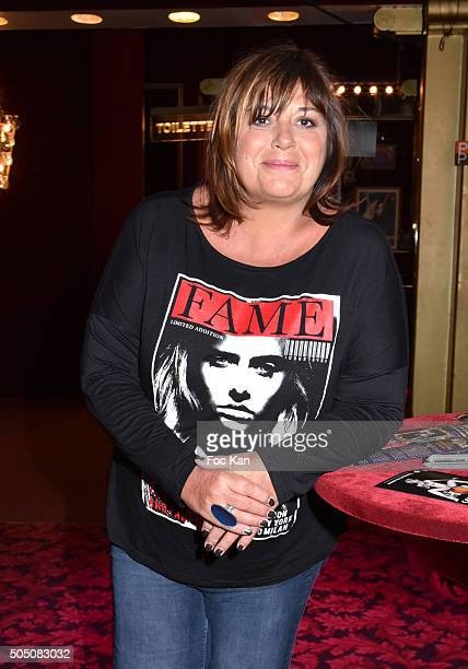 Michele Bernier attends The Hole' Show Party Hosted by Josy Foichat at Casino de Paris on January 14 2016 in Paris France