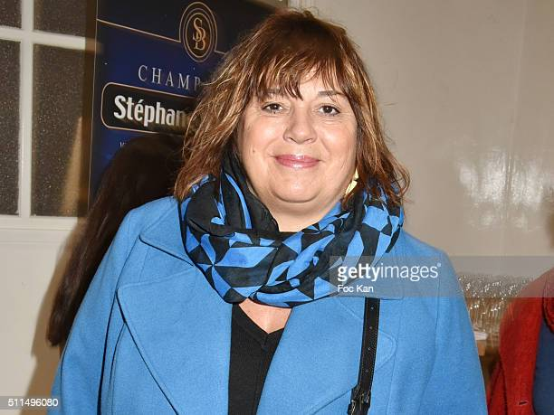 Michele Bernier attends the Meghanora Auction Fashion Show to Benefit Meghanora Children Care Association Photocall at Salon des Miroirs Passage...
