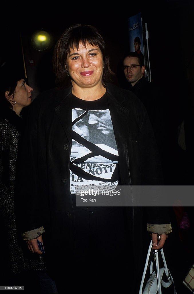Michele Bernier during 'The Ex Woman Of My Life' - Paris Premiere at Gaumont Marignan in Paris, France.