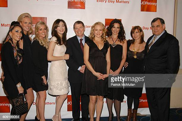 Michele Bohbot CariDee English Jane Krakowski Emmy Rossum Mike Ullman Jewel Andie MacDowell Nicole Miller and Ken Hicks attend The Stars Come Out to...