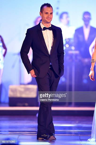 Michele Caliendo attends during the Golden Foot Award 2014 ceremony at Sporting Club on October 13 2014 in MonteCarlo Monaco