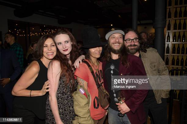 Michele Caplinger Kaci Winchell Linda Perry Ian Schumacher and Mike Rizzi attend the Industry Insights Women in Music at City Winery on April 05 2019...
