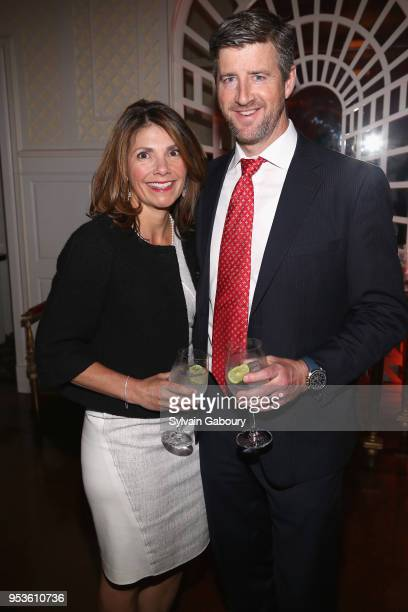 Michele Carey and Don Carey attend Multiple Myeloma Research Foundation's Laugh For Life at 583 Park Avenue on May 1 2018 in New York City