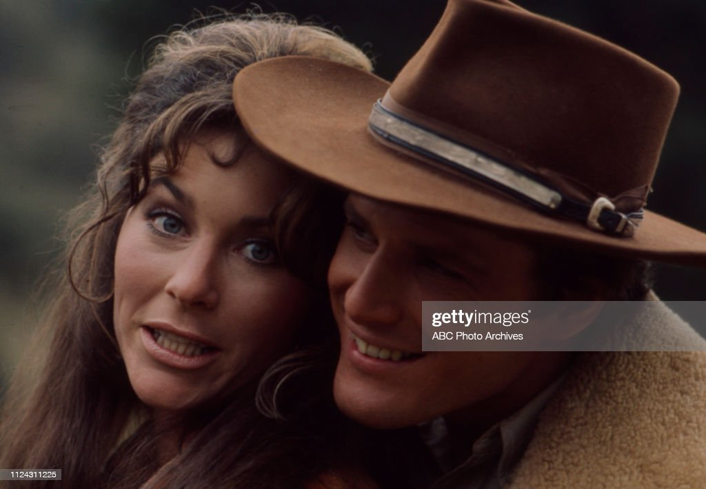 Michele Carey, Ben Murphy Appearing In 'Alias Smith And Jones' : News Photo