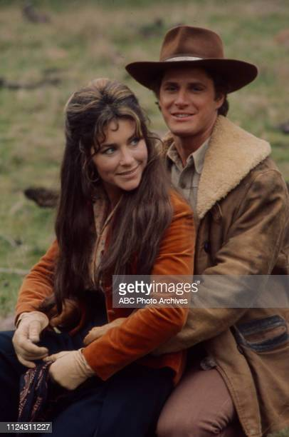 Michele Carey Ben Murphy appearing in the Walt Disney Television via Getty Images series 'Alias Smith and Jones' episode 'A Fistful of Diamonds'