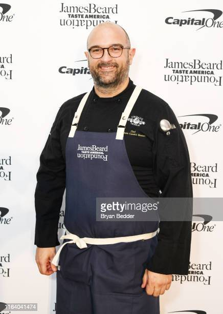 Michele Casadei Massari attends as The James Beard Foundation kicks off the 201920 Taste America presented by official banking and credit card...