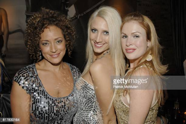 Michele Clauss Dione Spiteri and Janell Hartman attend ATTICA's Third Annual Black Tie James Bond Party Sponsored by ASTON MARTIN GREY GOOSE and...