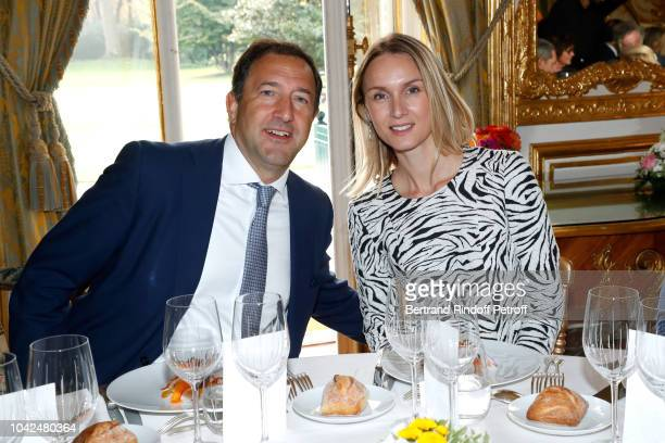 Michele Colocci Global CoHead Healthcare Investment Banking JP Morgan And Director of Philanthropy of AROP for the Opera national de Paris Charlotte...
