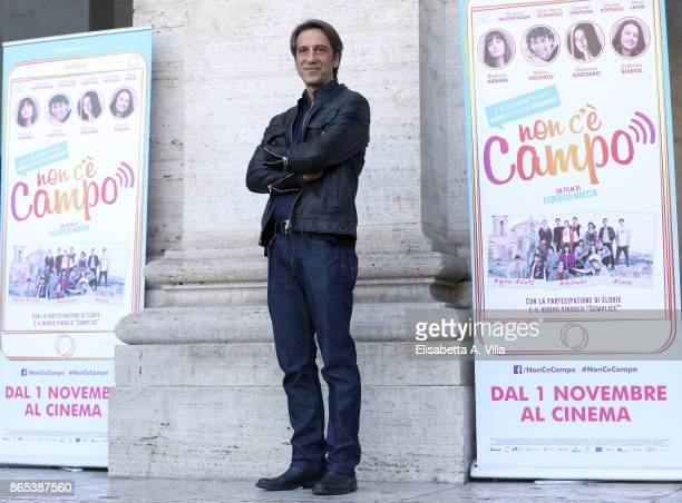 Michele De Virgilio attends 'Non C'e' Campo' photocall on October 23 2017 in Rome Italy