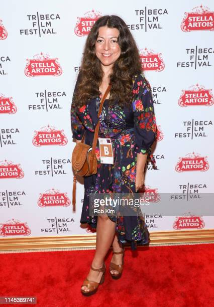 Michele Farinola attends the Tribeca Film Festival AfterParty for Linda Ronstadt The Sound Of My Voice Hosted By Stella Artois at Stella Lounge on...