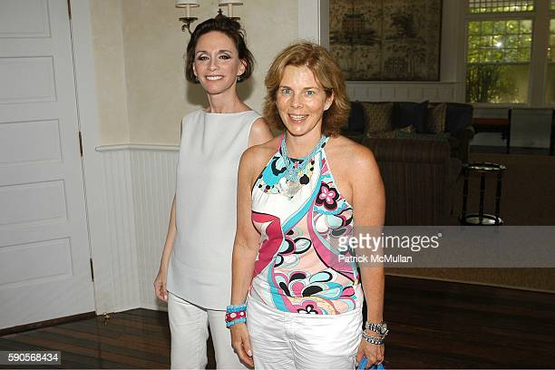Michele Gerber Klein and Ruth Fleischmann attend Cynthia and Dan Lufkin Host a Luncheon Celebrating The Juilliard School's Centennial at the home of...