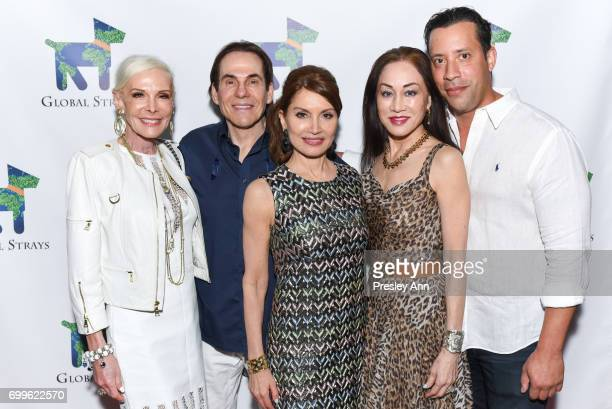 Michele Herbert R Couri Hay Jean Shafiroff Lucia Hwong Gordon and Joe Alexander attend Elizabeth Shafiroff and Lindsey Spielfogal Host the First...
