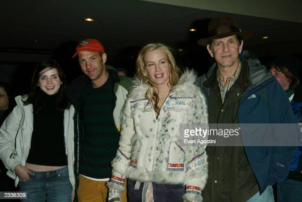 Michele Hicks Anthony Edwards Daryl Hannah and Peter Coyote arriving at the Northfork screening during the 2003 Sundance Film Festival in Park City...