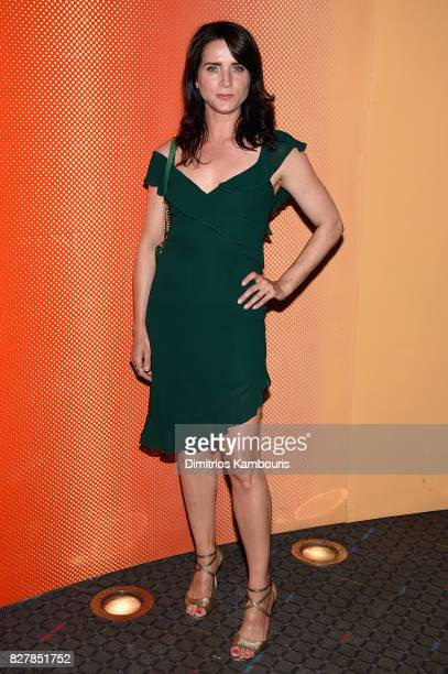 Michele Hicks attends Good Time New York Premiere at SVA Theater on August 8 2017 in New York City