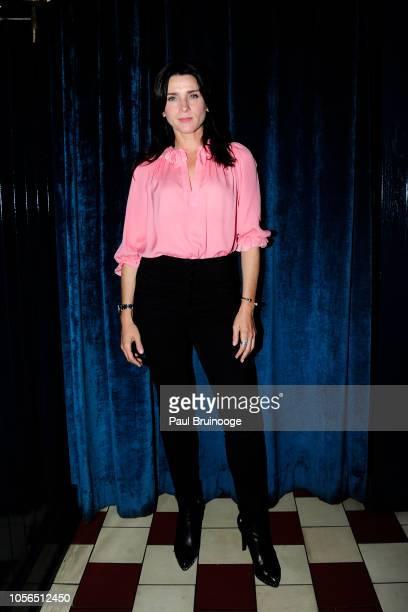 Michele Hicks attends Rudd Oakville Estate Dinner at Bistrot Leo on October 17 2018 in New York City