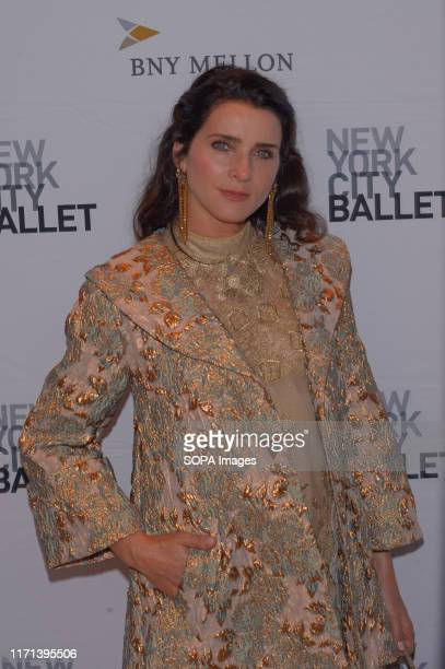 Michele Hicks attends the 8th Annual New York City Ballet Fall Fashion Gala at David H. Koch Theater, Lincoln Center.