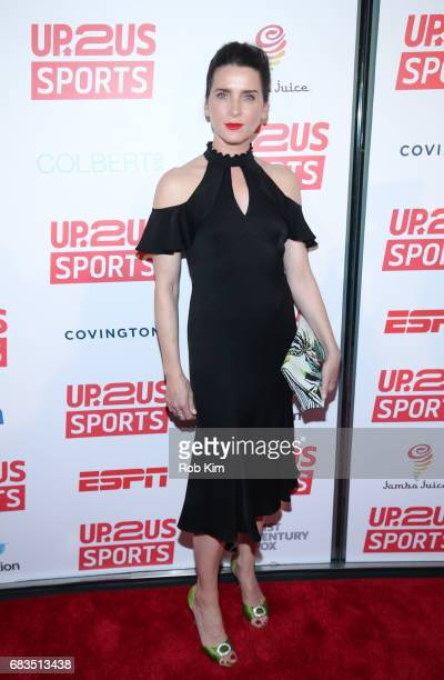 Michele Hicks attends the Up2Us Sports Gala 2017 at Guastavino's on May 15 2017 in New York City