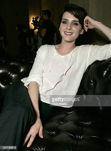 Michele Hicks during Citizens of Humanity Celebrate Summer Inside at The Roosevelt Hotel in Hollywood California United States