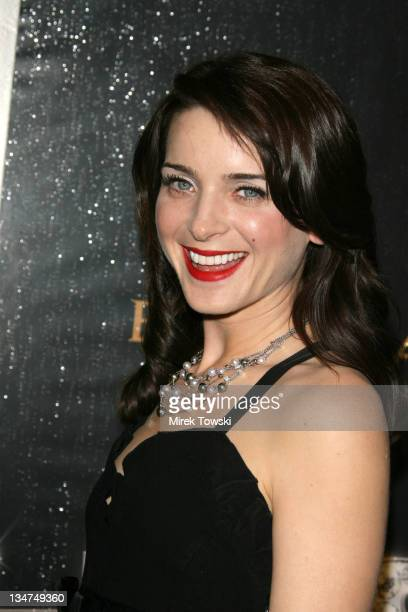 Michele Hicks during Heist NBC series party at Bulgari store on Rodeo Dr in Beverly Hills California United States
