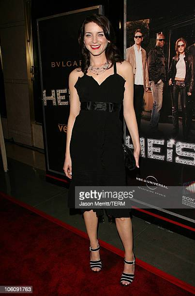 Michele Hicks during NBC's 'Heist' Premiere Arrivals at Bulgari in Beverly Hills California United States