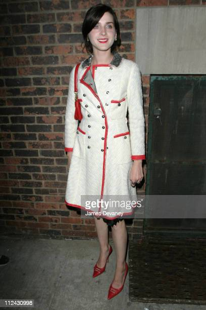 Michele Hicks during Olympus Fashion Week Fall 2004 Marc Jacobs Arrivals at New York State Armory in New York City New York United States