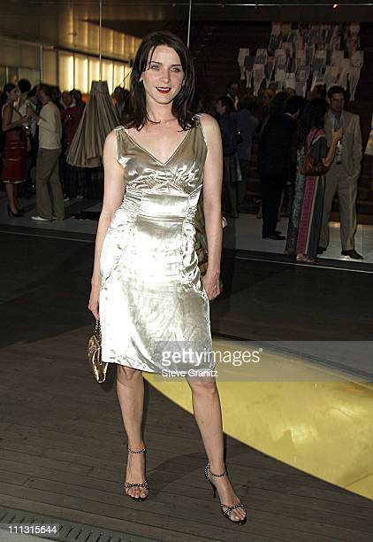 Michele Hicks during Prada Celebrates the Los Angeles Opening of Waist Down Skirts By Miuccia Prada at Prada in Hollywood California United States