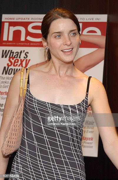 Michele Hicks during Searching For Debra Winger Screening Hosted by InStyle Inside Arrivals at Bryant Park Hotel in New York City New York United...