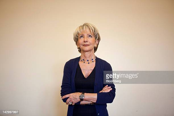 Michele Lamarche, managing director of government advisory for Lazard Ltd., poses for a photograph at her office in Paris, France, on Friday, April...