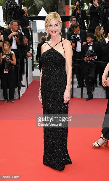 Michele Laroque attends the closing ceremony of the 69th annual Cannes Film Festival at the Palais des Festivals on May 22 2016 in Cannes France