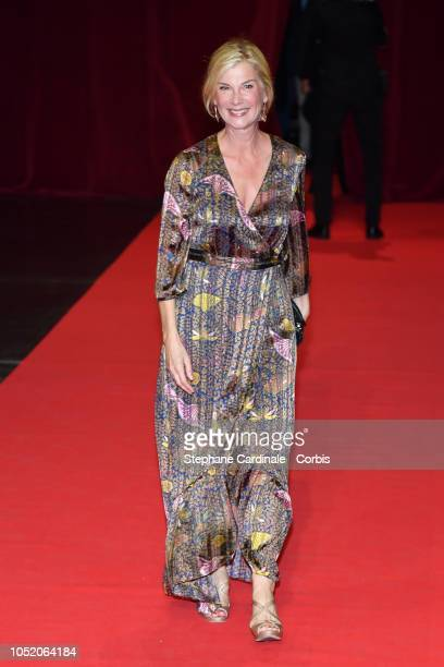 Michele Laroque attends the opening ceremony during the 10th Film Festival Lumiere on October 13, 2018 in Lyon, France.