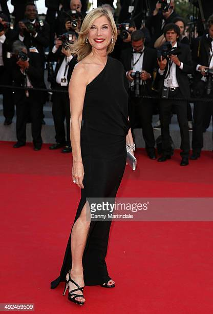 Michele Laroque attends the 'Two Days One Night' Premiere at the 67th Annual Cannes Film Festival on May 20 2014 in Cannes France