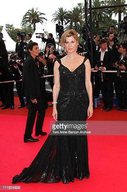 Michele Laroque during 2007 Cannes Film Festival 'We Own The Night' Premiere at Palais des Festivals in Cannes France