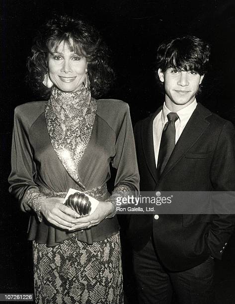 Michele Lee and David Farentino during Variety Arts Club Celebrity Tribute to Lucille Ball at NBC TV Studios in Burbank California United States